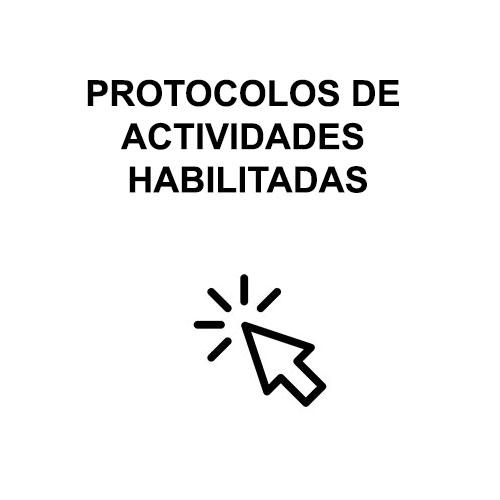 Protocolos de actividades habilitadas