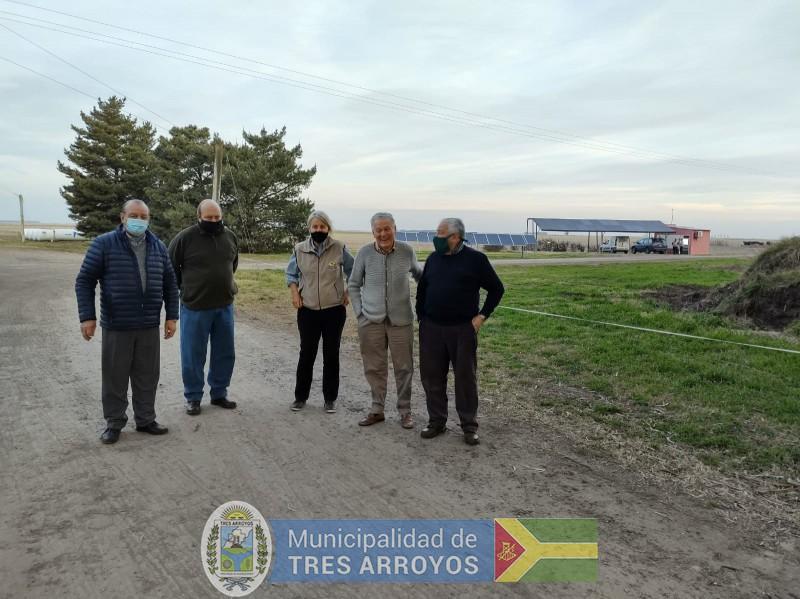 imagen 1 de la noticia SANCHEZ SE ASESORA EN ENERGIA PROVENIENTE DE PANELES SOLARESpublicada el 2021-07-23