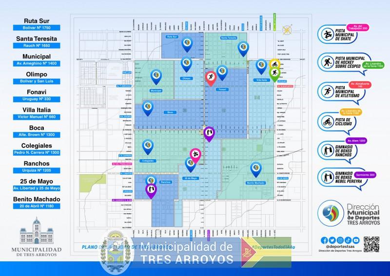 imagen 1 de la noticia LA DIRECCIÓN DE DEPORTES PRESENTE EN LOS BARRIOS, INSTITUCIONES Y LOCALIDADESpublicada el 2021-07-26