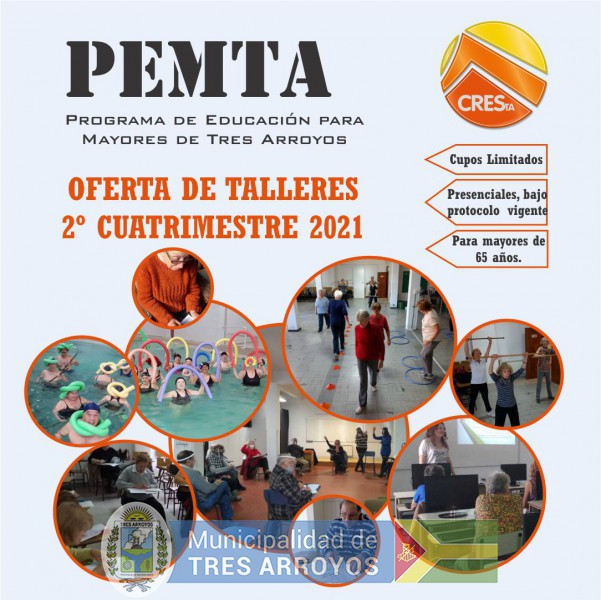 imagen 1 de la noticia PEMTA - INSCRIPCIONES 2021 - 2º CUATRIMESTREpublicada el 2021-07-27