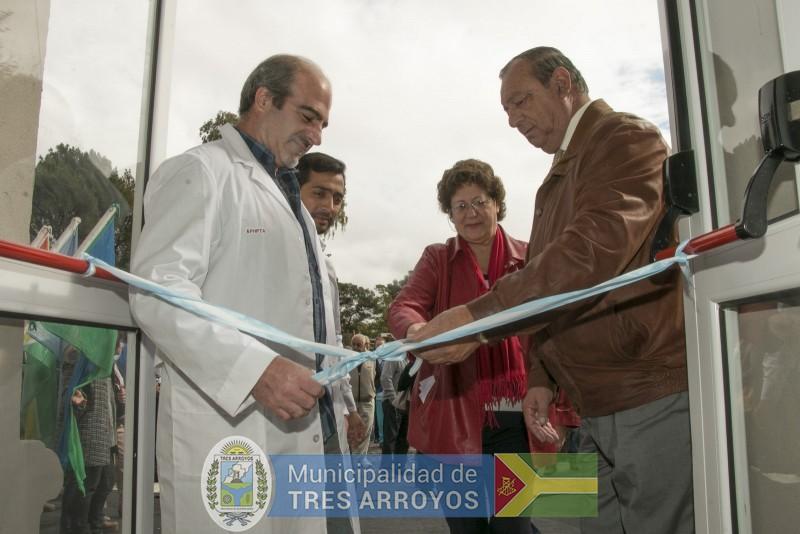 imagen 1 de la noticia SE Inauguraró la sala de internaciones del Hospital Pirovanopublicada el 2017-04-26