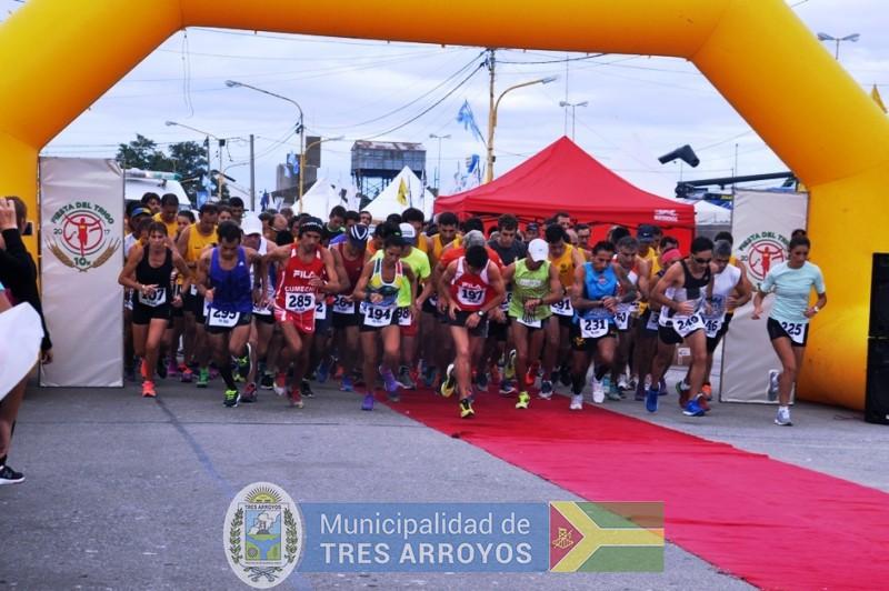 imagen 1 de la noticia Maratón 5k y 10k en el marco de la Fiesta Provincial del Trigopublicada el 2018-02-07
