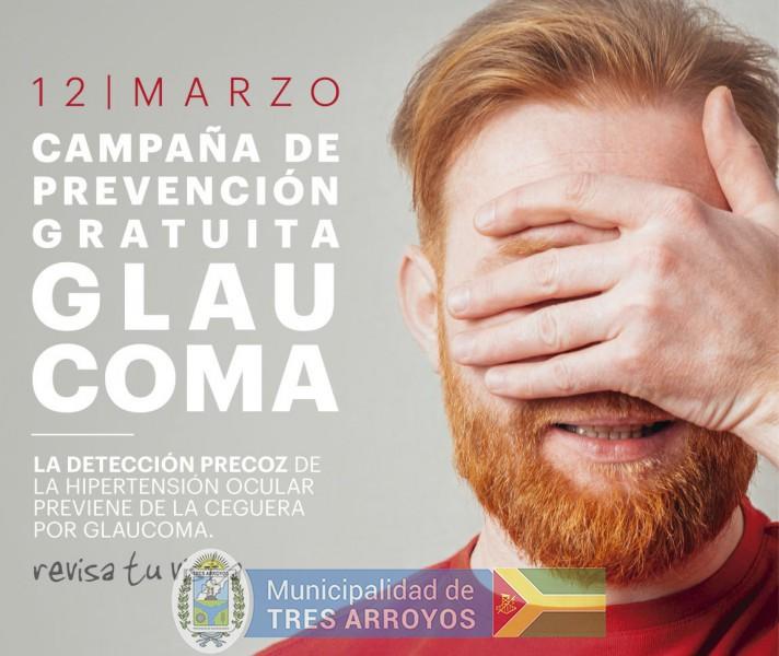 imagen 1 de la noticia CAMPAÑA NACIONAL DE DETECCIÓN DEL GLAUCOMA publicada el 2018-03-12