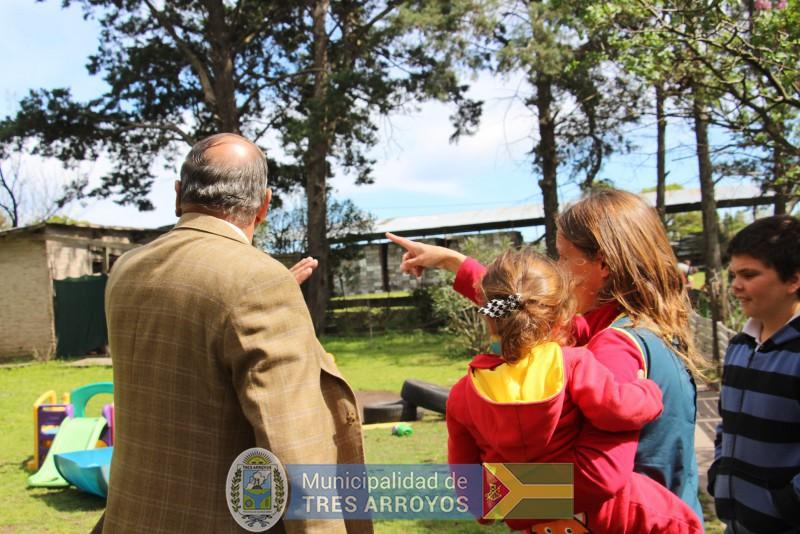 imagen 5 de la noticia Sánchez visitó el Jardín Montessoripublicada el 2018-10-09