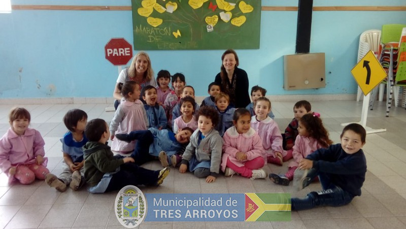 imagen 1 de la noticia La Secretaría de Seguridad realiza actividades pedagógicas en establecimientos educativospublicada el 2018-10-11