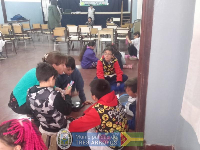 imagen 3 de la noticia La Secretaría de Seguridad realiza actividades pedagógicas en establecimientos educativospublicada el 2018-10-11