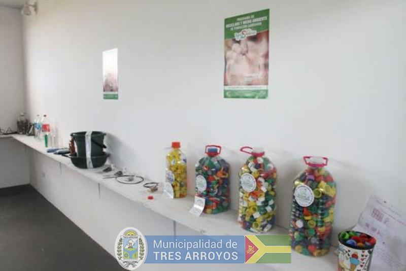 imagen 2 de la noticia  Cumple 1 año el Aula Interactiva del Predio de la Planta Recicladorapublicada el 2018-10-12