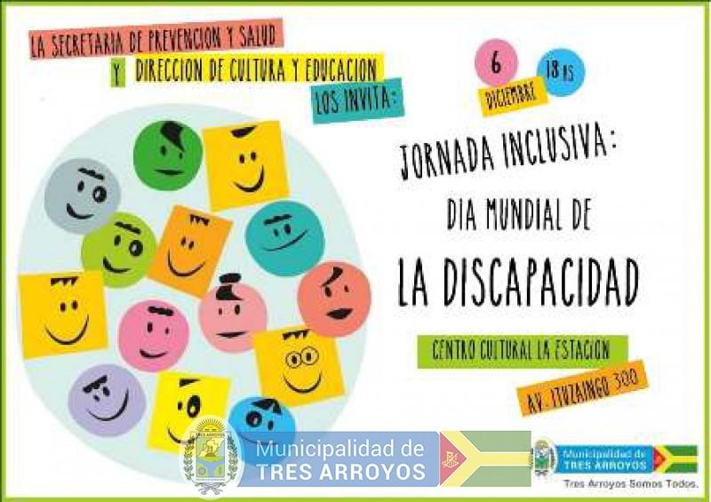 imagen 1 de la noticia  JORNADA ARTÍSTICA EN EL CCE POR EL  DÍA INTERNACIONAL DE LAS PERSONAS CON DISCAPACIDADpublicada el 2018-12-05