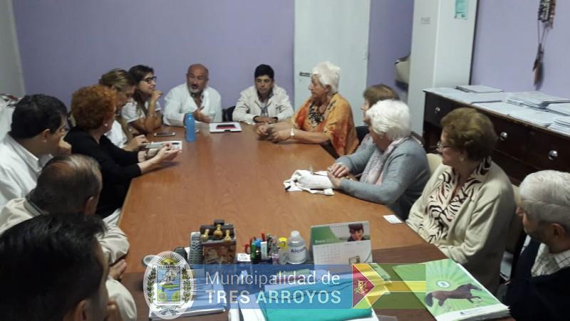 imagen 1 de la noticia El intendente organizó una reunión en el Geriátrico Municipalpublicada el 2019-01-10