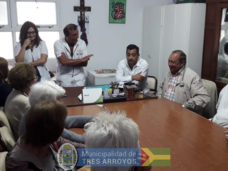 imagen 2 de la noticia El intendente organizó una reunión en el Geriátrico Municipalpublicada el 2019-01-10