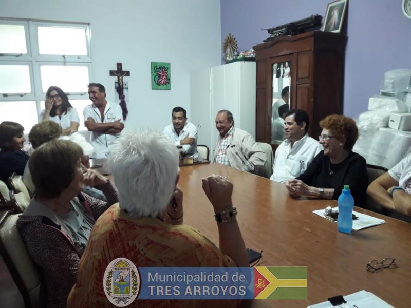 imagen 4 de la noticia El intendente organizó una reunión en el Geriátrico Municipalpublicada el 2019-01-10