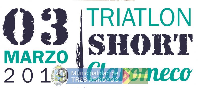 imagen 1 de la noticia Triatlón Short Claromecó   publicada el 2019-02-06