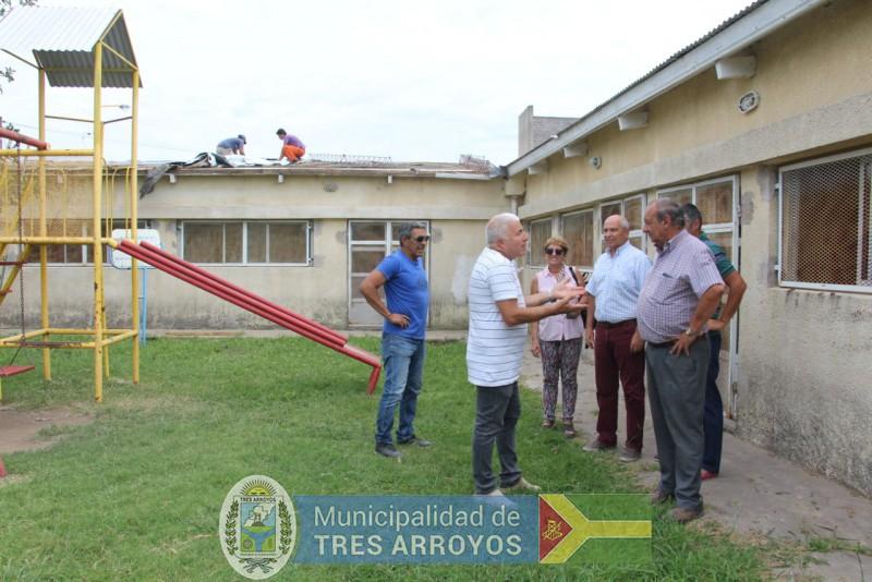 imagen 1 de la noticia El Intendente junto a funcionarios estuvo recorriendo el CIC de Bocapublicada el 2019-02-08