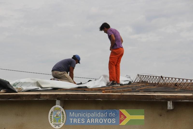 imagen 2 de la noticia El Intendente junto a funcionarios estuvo recorriendo el CIC de Bocapublicada el 2019-02-08