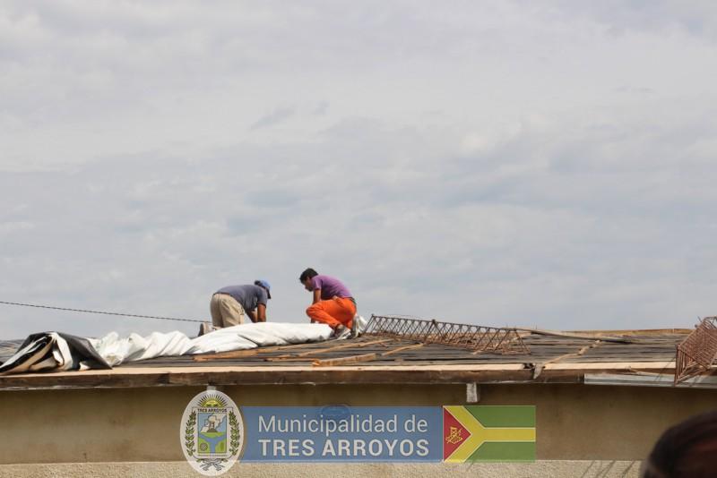 imagen 3 de la noticia El Intendente junto a funcionarios estuvo recorriendo el CIC de Bocapublicada el 2019-02-08