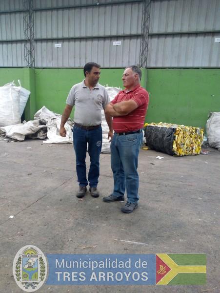 imagen 1 de la noticia Visita del Sub secretario de medio ambiente de Dolorespublicada el 2019-02-11