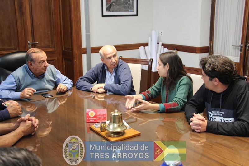 imagen 2 de la noticia El Intendente recibió a grupo de empleados de la ex Lasopublicada el 2019-03-12