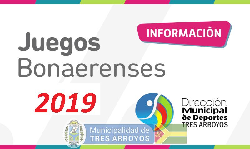 imagen 1 de la noticia Juegos Bonaerenses 2019publicada el 2019-03-14