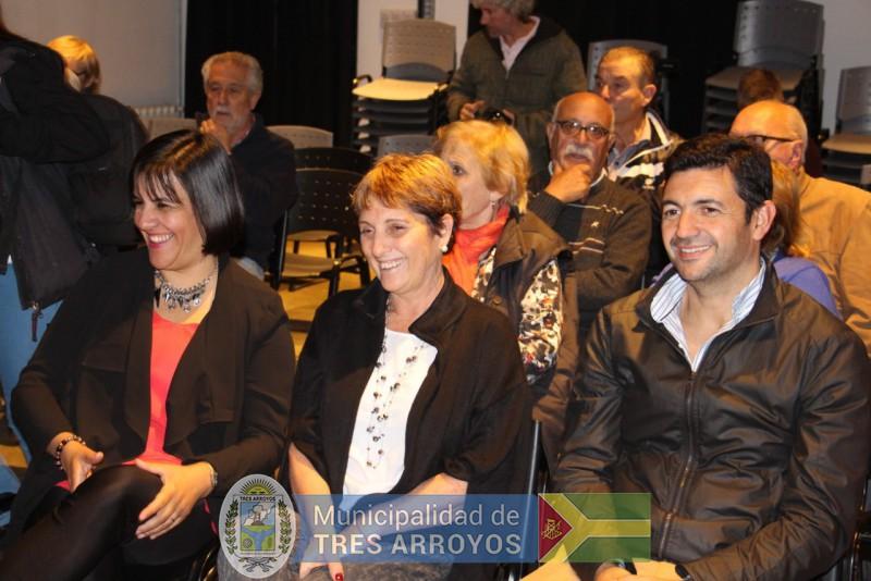 imagen 4 de la noticia 135 º Aniversario de Tres Arroyos: Importante concurrencia en el Centro cultural la estaciónpublicada el 2019-04-13