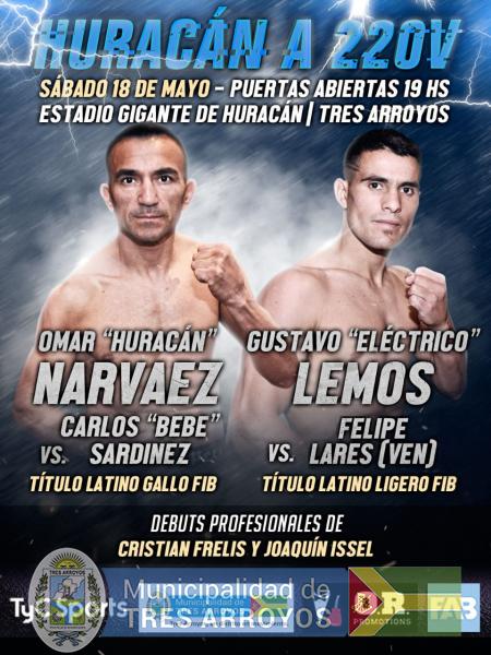 imagen 1 de la noticia Viernes Pesaje oficial de boxeadorespublicada el 2019-05-15