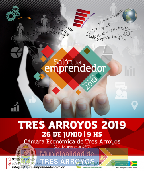 imagen 1 de la noticia SALÓN DEL EMPRENDEDOR TRES ARROYOS 2019publicada el 2019-06-11