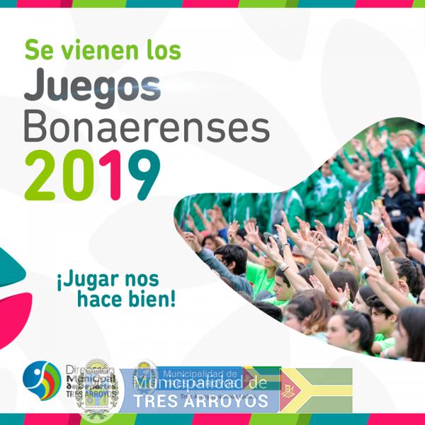 imagen 1 de la noticia CALENDARIO DE ETAPA REGIONAL  DE BONAERENSES DE LA DIRECCIÓN DE DEPORTESpublicada el 2019-08-12