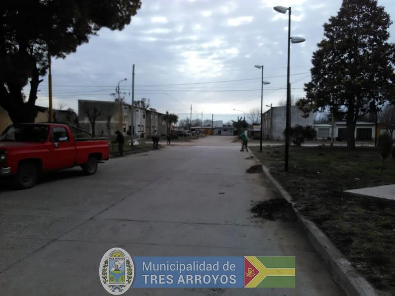imagen 4 de la noticia Personal del programa Barrios Limpios, se encuentra trabajando en el barrio Fonavi Nortepublicada el 2019-08-22