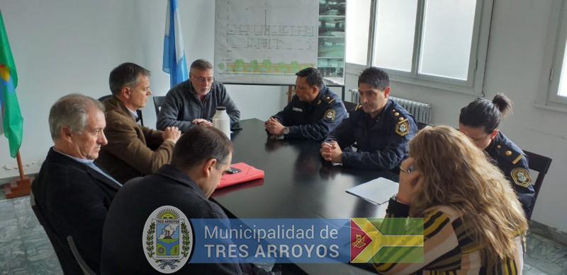 imagen 3 de la noticia Importante reunión en la Secretaría de Seguridad por los festejos de la Primaverapublicada el 2019-09-10