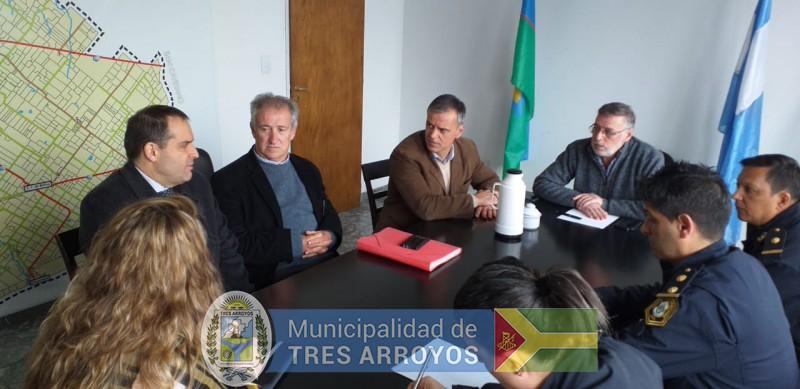 imagen 4 de la noticia Importante reunión en la Secretaría de Seguridad por los festejos de la Primaverapublicada el 2019-09-10