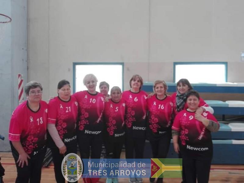 imagen 1 de la noticia  El grupo de Newcom de la Dirección de Deportes, presente en Trenque Lauquenpublicada el 2019-09-10