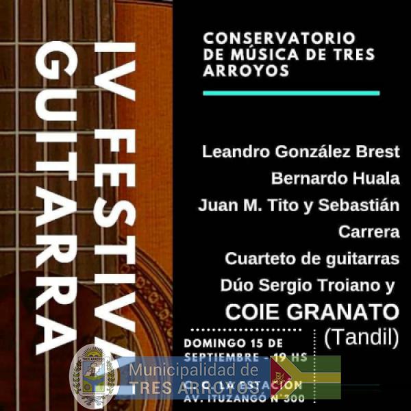 imagen 1 de la noticia CCE: CIERRE DEL IV FESTIVAL DE GUITARRApublicada el 2019-09-11