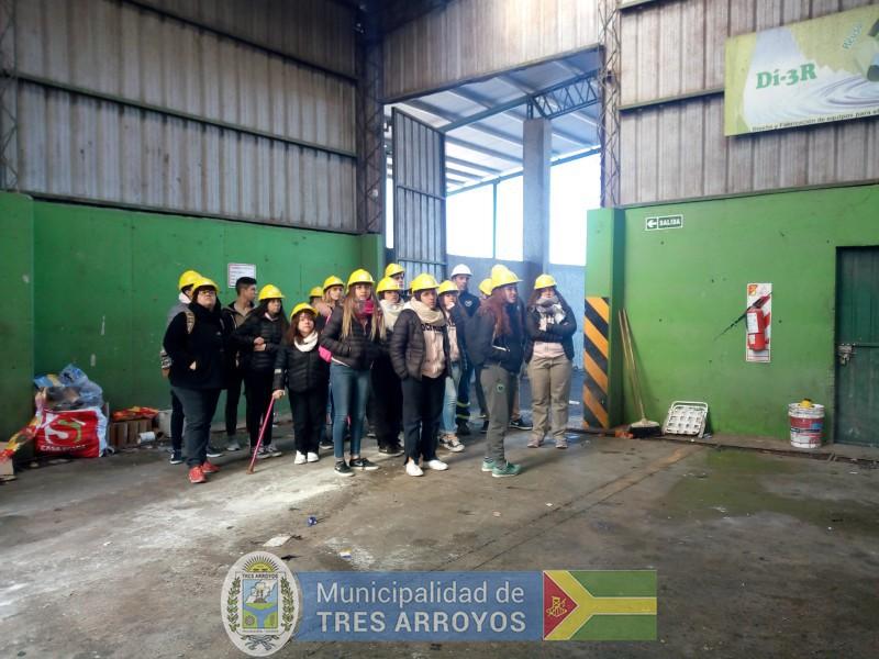 imagen 1 de la noticia Continúan con las visitas a la Planta de recicladopublicada el 2019-09-12