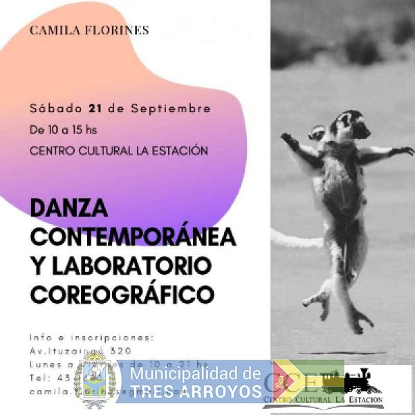 imagen 1 de la noticia ABIERTAS LAS INSCRIPCIONES TALLER DE DANZA CONTEMPORÁNEA Y LABORATORIO COREOGRÁFICOpublicada el 2019-09-16