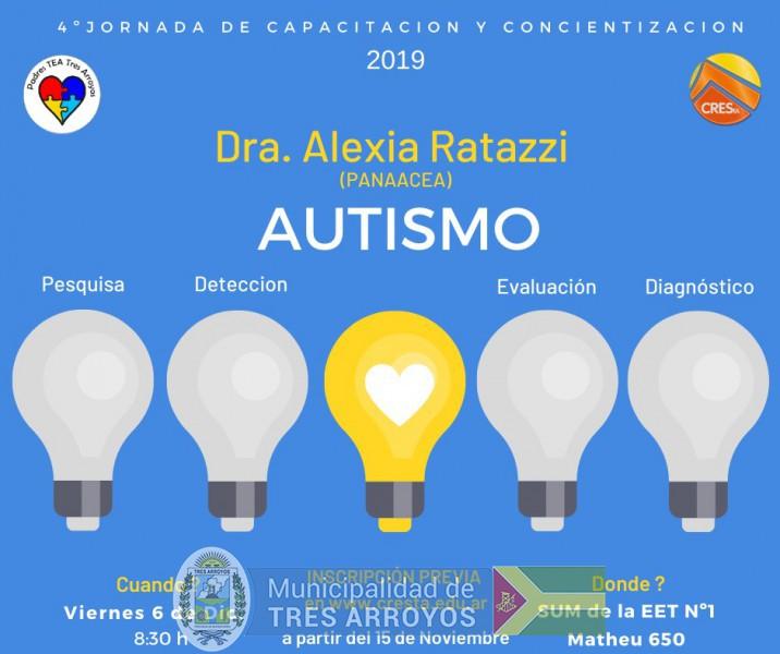 imagen 1 de la noticia Capacitación sobre autismopublicada el 2019-11-06