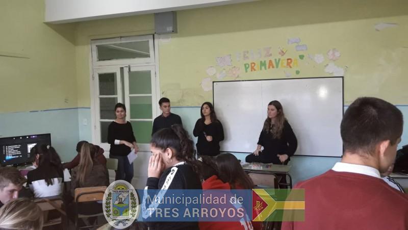 imagen 2 de la noticia ACTIVIDADES DE PROMOCIÓN Y PREVENCIÓN DE LA CASA DE LA MUJER publicada el 2018-11-07