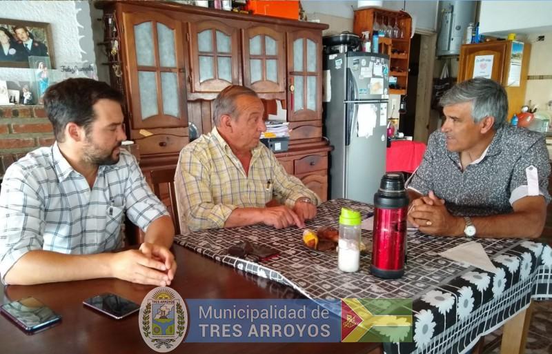 imagen 2 de la noticia El intendente Sánchez estuvo en Claromecó y en Cascallarespublicada el 2019-12-01