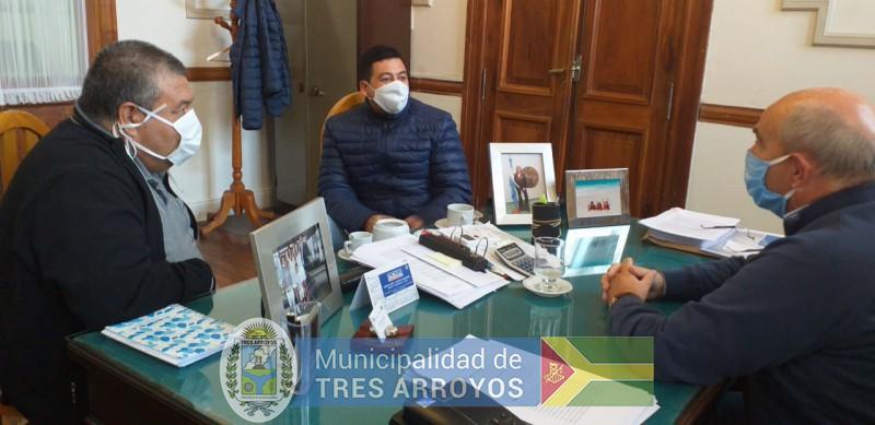 imagen 2 de la noticia Hugo Fernandez con el Sindicato Municipalpublicada el 2020-05-19