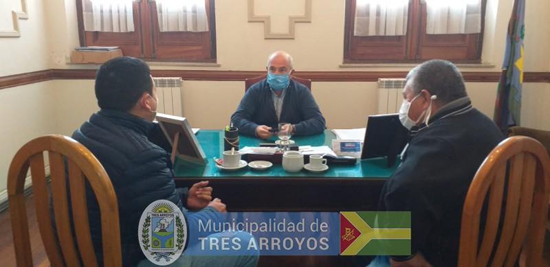 imagen 3 de la noticia Hugo Fernandez con el Sindicato Municipalpublicada el 2020-05-19