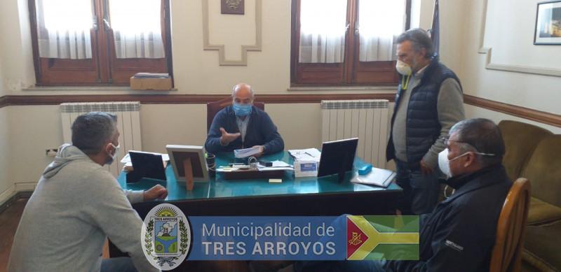 imagen 2 de la noticia HUGO FERNANDEZ CON LA UOCRApublicada el 2020-05-19