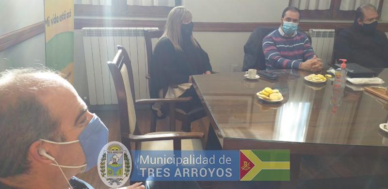 imagen 1 de la noticia SANCHEZ CON REGIÓN SANITARIA Ipublicada el 2020-06-26