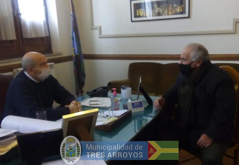 imagen 1 de la noticia Hugo Fernández recibió al coordinador del PITApublicada el 2020-06-29