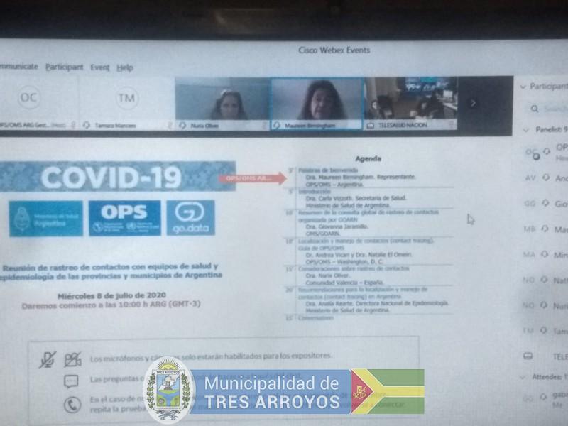 imagen 1 de la noticia GUERRA EN REUNIÓN VIRTUALpublicada el 2020-07-08