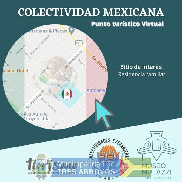 imagen 1 de la noticia PUNTO TURISTICO MEXICO/MULAZZIpublicada el 2020-10-29