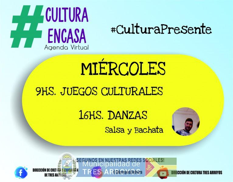 imagen 1 de la noticia Agenda cultural virtual: miercoles 25/11publicada el 2020-11-24