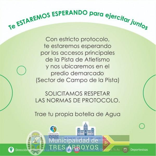 imagen 2 de la noticia JORNADA ESPECIAL AL AIRE LIBRE NOS CUIDAMOS Y EJERCITAMOSpublicada el 2020-11-25