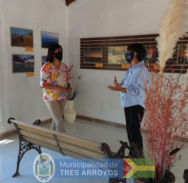 imagen 1 de la noticia Noemí Rivas visitó espacios culturales de Retapublicada el 2021-01-13