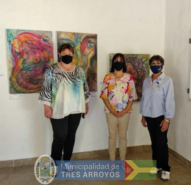 imagen 2 de la noticia Noemí Rivas visitó espacios culturales de Retapublicada el 2021-01-13