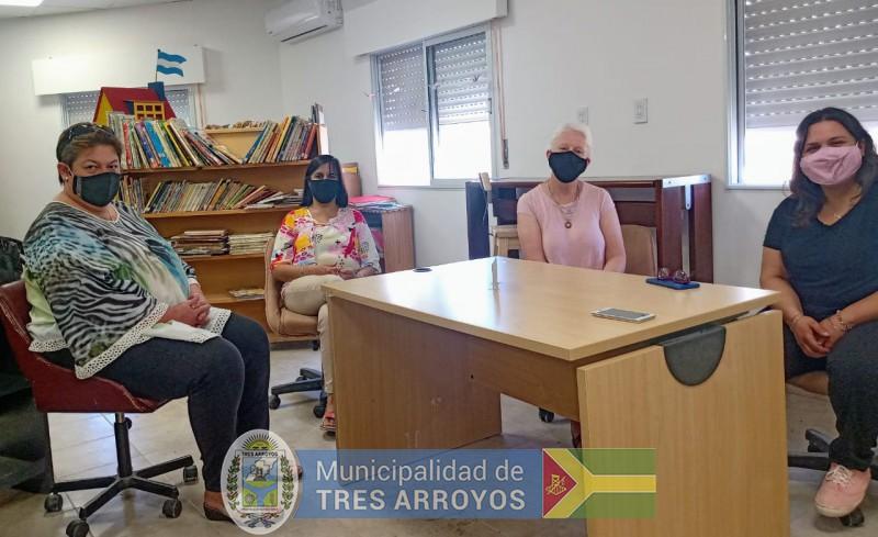imagen 3 de la noticia Noemí Rivas visitó espacios culturales de Retapublicada el 2021-01-13