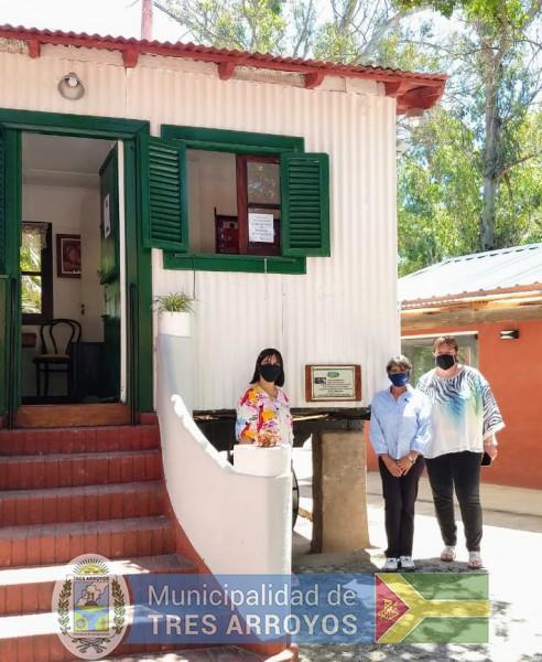 imagen 4 de la noticia Noemí Rivas visitó espacios culturales de Retapublicada el 2021-01-13