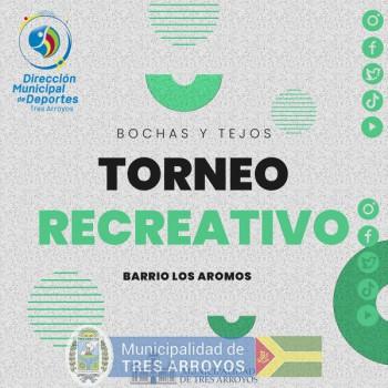 imagen 1 de la noticia TORNEO RECREATIVO DE BOCHAS Y TEJO DE LA DIRECCIÓN DE DEPORTESpublicada el 2021-10-18